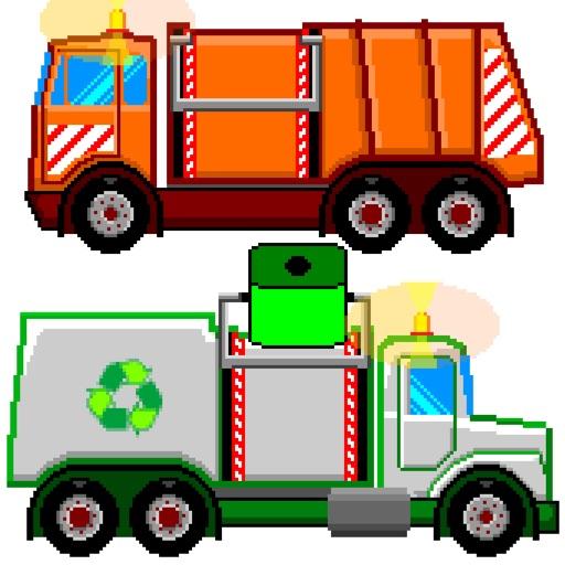 Reciclaje para Niños con Camiones iOS App