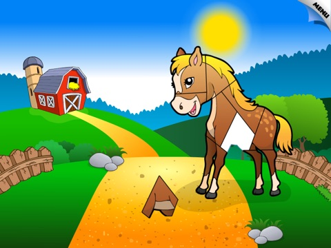 Abby Shape Puzzle – Baby Farm Animals and Insect screenshot 4