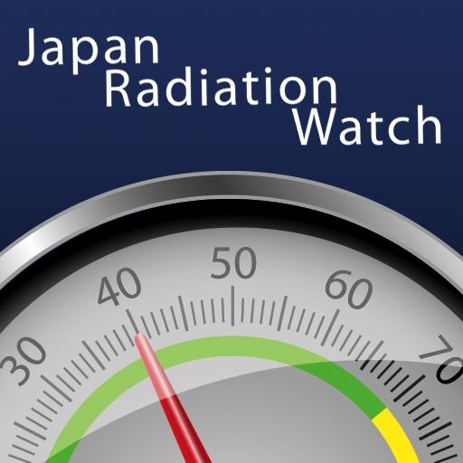 Japan Radiation Watch iOS App