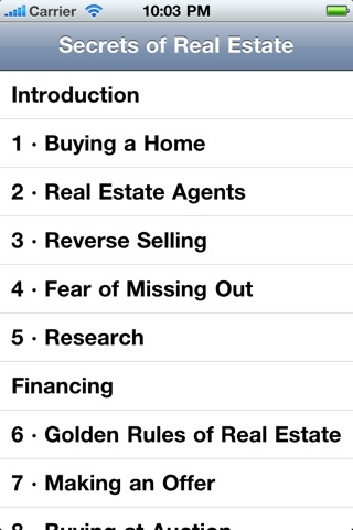 Secrets of Real Estate screenshot 1