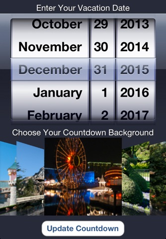 Trip Countdown for Disneyland screenshot 2