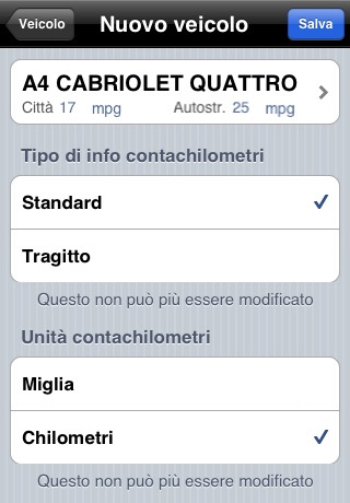 AccuFuel screenshot 2