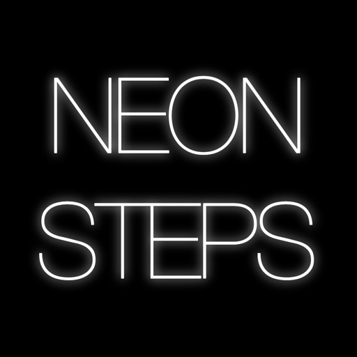 Neon Steps - Don't Step On The White Stars! iOS App