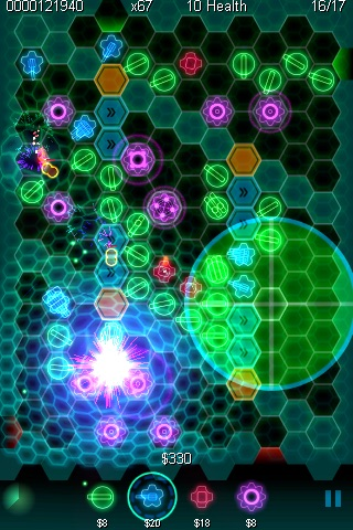 geoDefense Swarm Screenshot