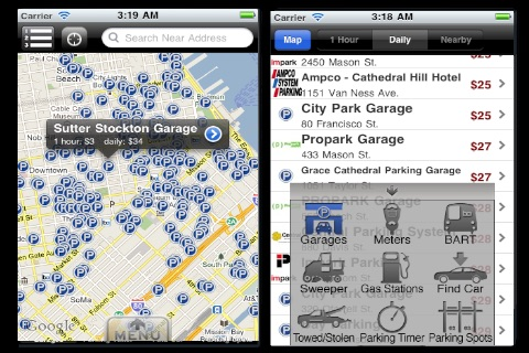 NYC Parking screenshot 1