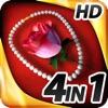 Hidden Objects - 4 in 1 - Romance Pack HD