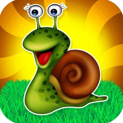 Save the Little Snail Venture - A Falling Rock Avoiding Game iOS App