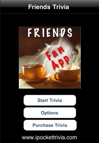 Friends TV Trivia screenshot 1