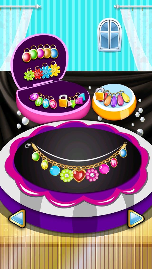 宝石化粧メーカー-小さな妖精の人魚の女の子-無料シックなファッションにドレスアップ ゲームのスクリーンショット4