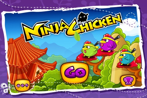 Ninja Chicken Egg Collector screenshot 1
