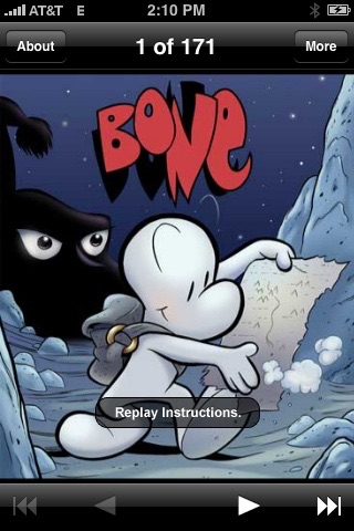 "Bone Issue 1 – ""Out From Boneville"" screenshot 1"