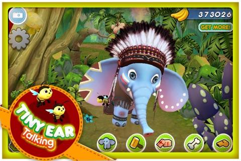 Talking Tiny Ear The Elephant Screenshot