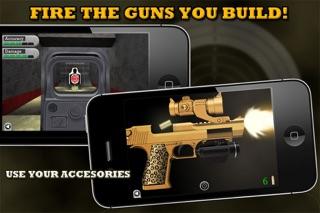 Screenshots of Gun Builder for iPhone
