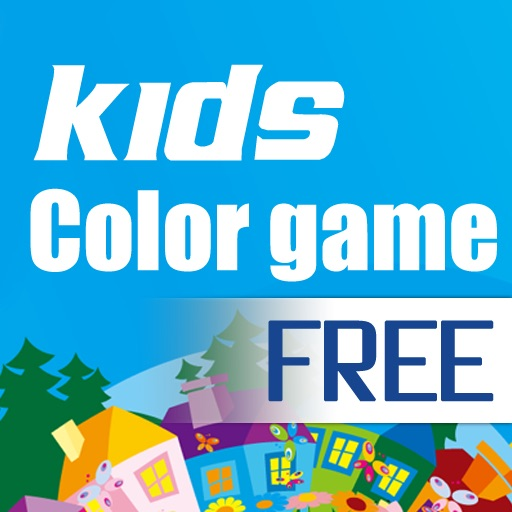 Kids Coloing Game Free iOS App