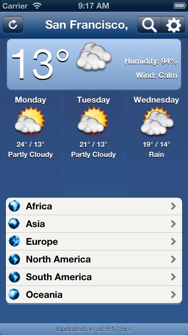 погода в миреСкриншоты 1