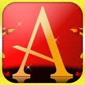 Spell My Name - A - Red and Gold icon