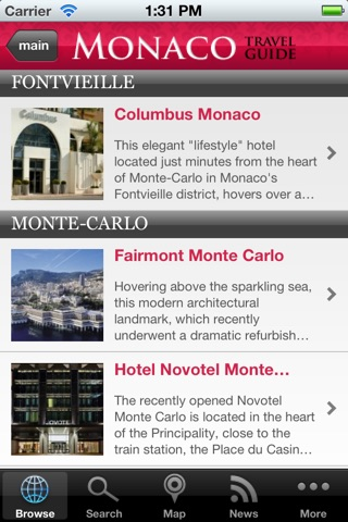 Monaco Travel Guide screenshot 4