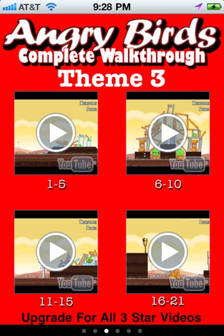 download Free 3 Star Videos for Angry Birds apps 2