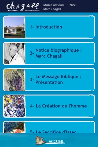 Musée National Marc Chagall de Nice (France)Capture d'écran de 3