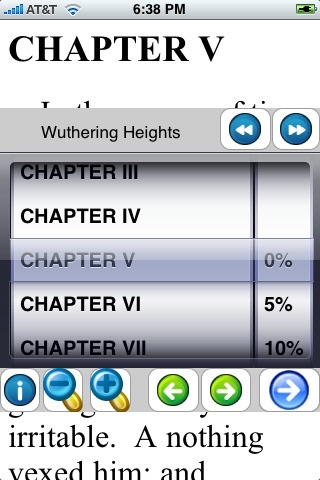 Wuthering Heights ( by Emily Bronte) screenshot 2