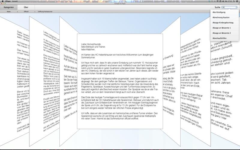 """vorlagen für pages"""" im mac app store, Einladung"""