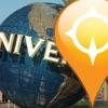 GPS Universal Studios Florida Map