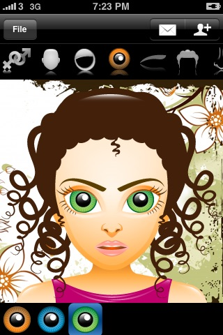 Avatar Free (Super Cute Contact Face Creator) screenshot 1