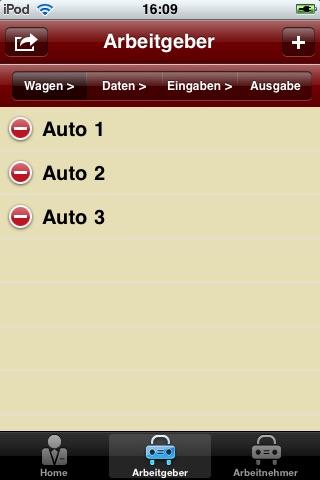 Screenshot von Rechner Dienstwagen2