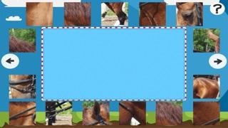 Puzzle Avec des Chevaux et Poneys - Jeu Interactif Gratuit Pour Les Enfants Apprendre la PenséeCapture d'écran de 2