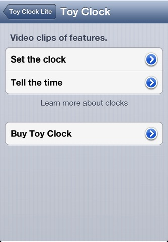 Toy Clock Lite screenshot 4