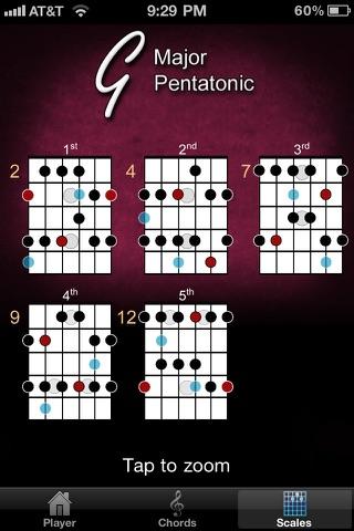 Screenshot #3 for Guitar Jam Tracks: Jazz