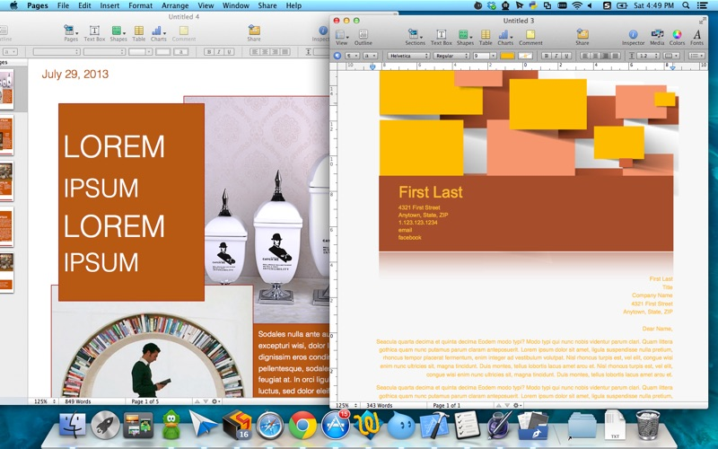 Templates for Pages by Fututime Screenshot - 4