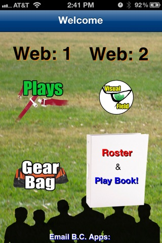 5-Man Flag Football Plays-Offense screenshot 2