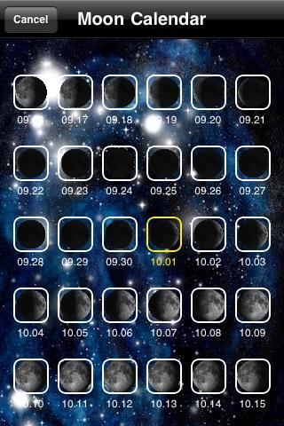 Луна Календарь (Moon Calendar + Sunrise Sunset)Скриншоты 3