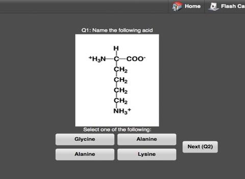 Biochem Flash Cards HD screenshot 3