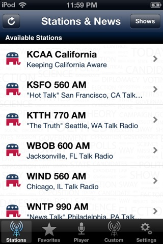 Conservative News Radio screenshot 1