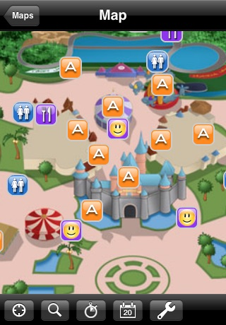 Disneyland California Mini Guide screenshot 1