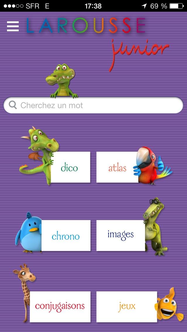 Dictionnaire Junior L... screenshot1