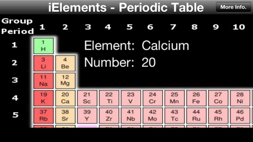 Ielements periodic table of the chemical elements on the app store iphone screenshot 2 urtaz Images