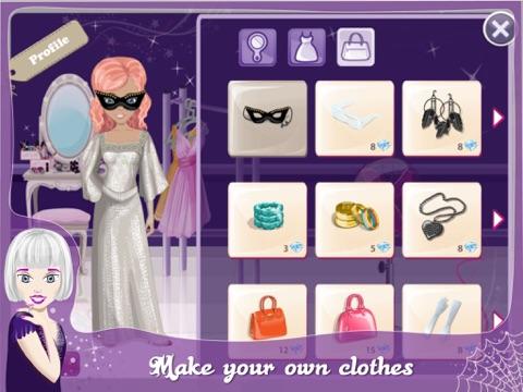 Screenshots of Fashion Design World - Halloween Edition for iPad