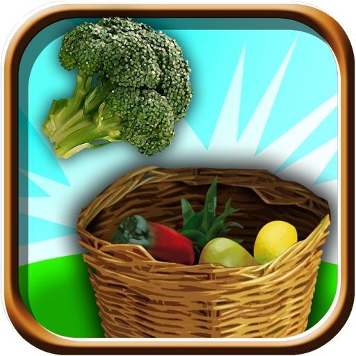 Naughty Farmer Vegetable Toss - Flick Farm Mania iOS App