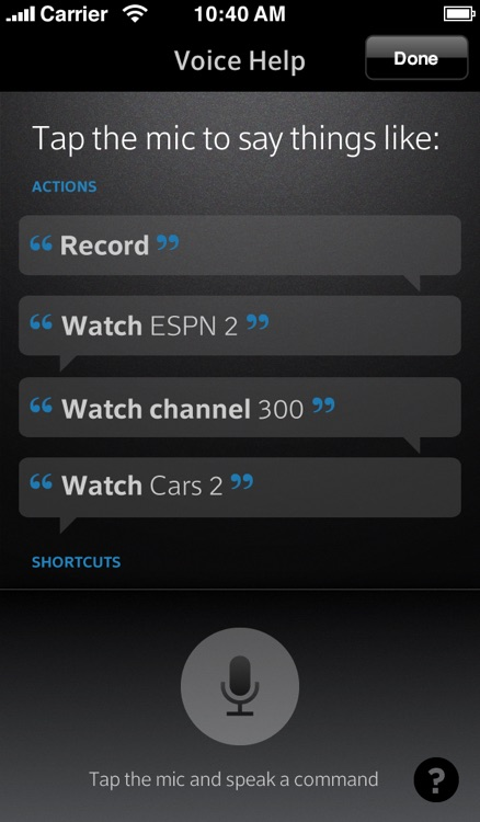 XFINITY TV X1 Remote by Comcast
