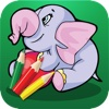 Jungle Animals Coloring Book