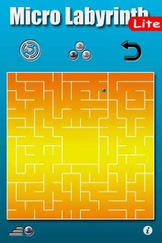 Micro Labyrinth Free screenshot 1