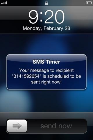 download SMS Timer apps 2