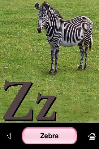 ABC Animal Flash Cards screenshot 4