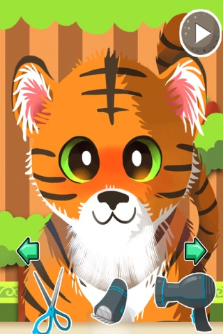 A Baby Zoo Animal Shave & Spa Salon - eXtreme Makeover Style Game screenshot 2