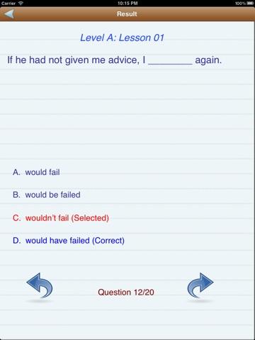 Test English (Level A,B,C) Скриншоты10