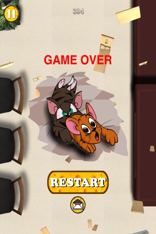 Mouse Chase - Top Best Free Endless Cat Race Escape Game screenshot 4