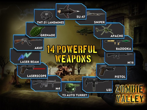Zombie Valley HD screenshot 3